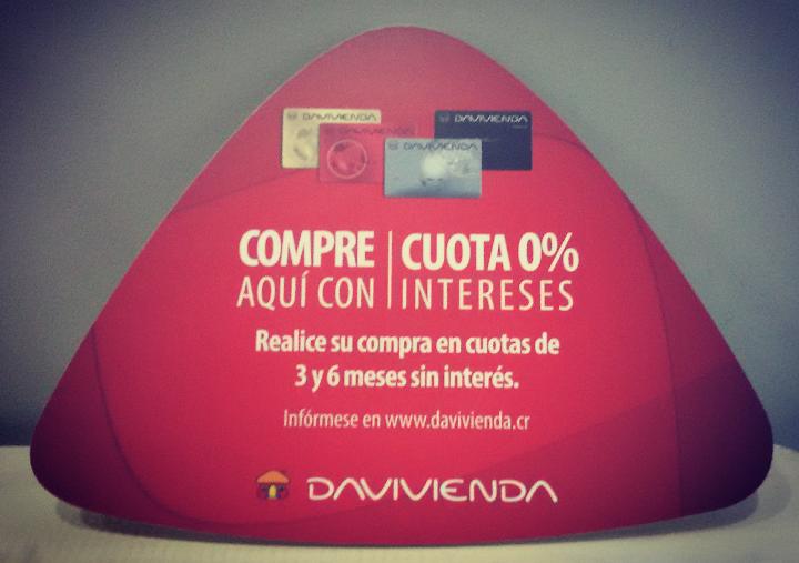Obtenga beneficios la pagar con su tarjeta DAVIVIENDA